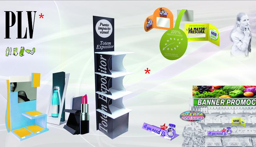 PLV: publicidad y promoción en el Punto de Venta. Gráficas Agulló