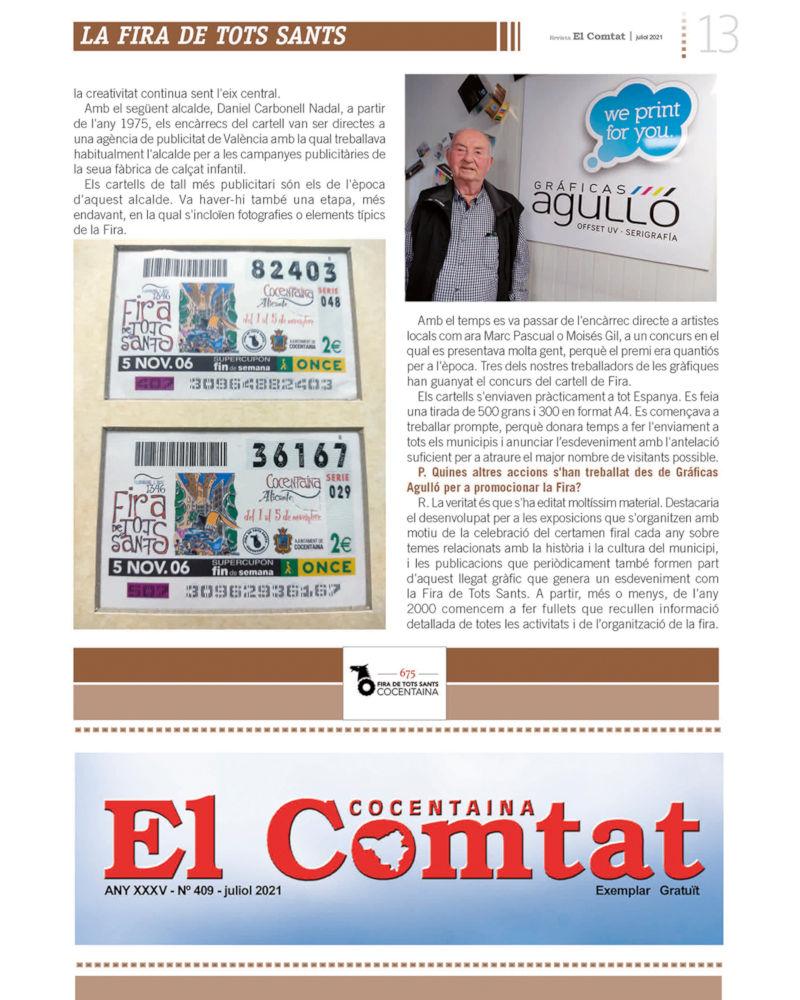 IMAGEN GRAFICAS AGULLO EL COMTAT LA FIRA 2