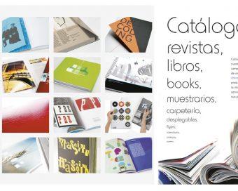 banner Catálogos, revistas, libros, books