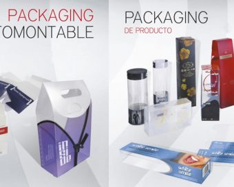 banner packaging UV montado