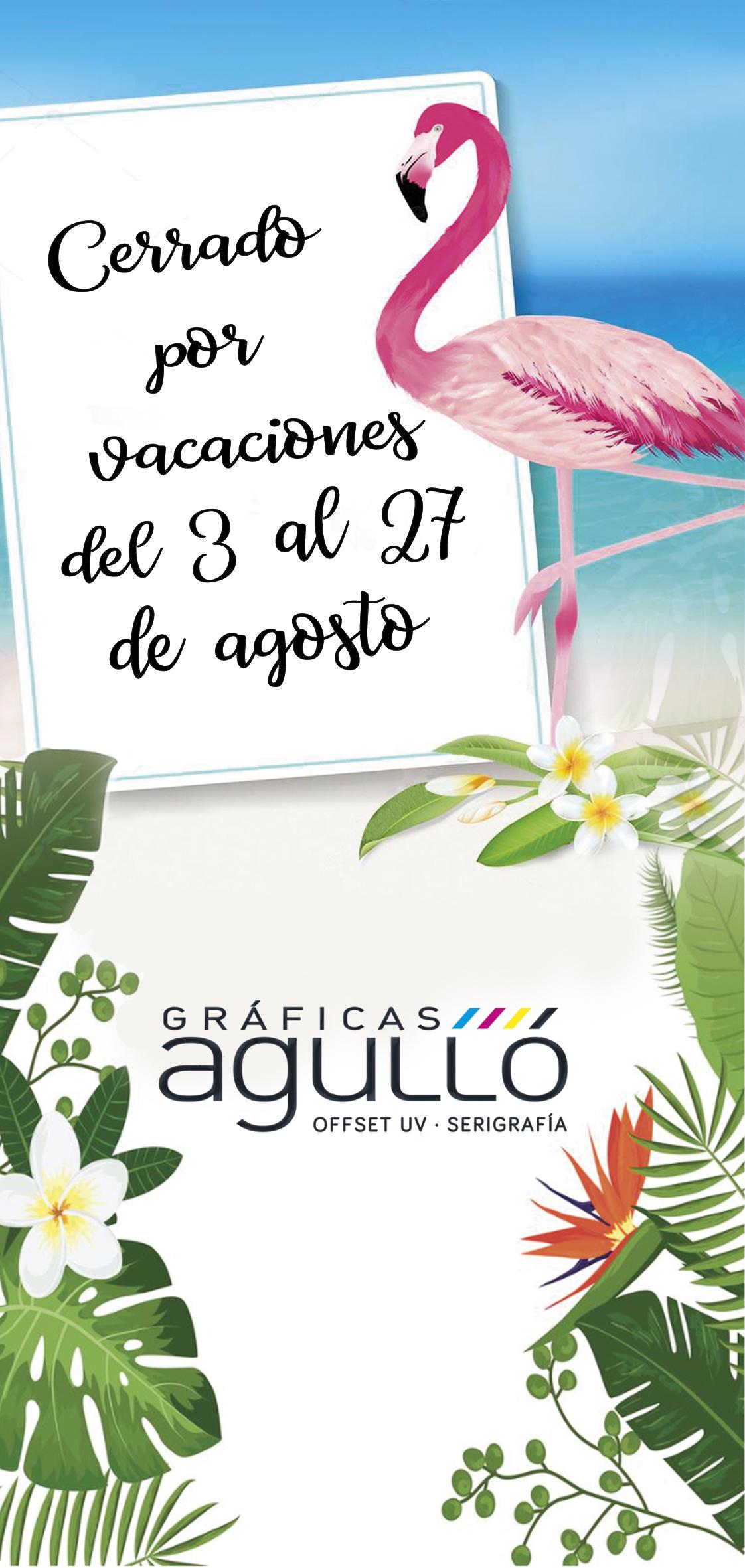 vacaciones AGULLÓ