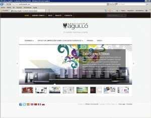 Gráficas Agulló: launches new website